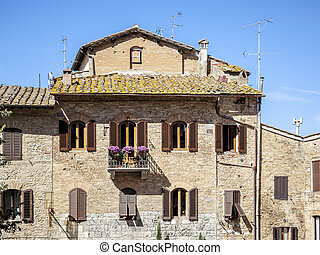 Traditional House in Tuscany