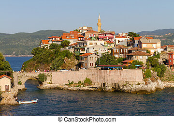 Traditional houses from Amasra, Bart?n