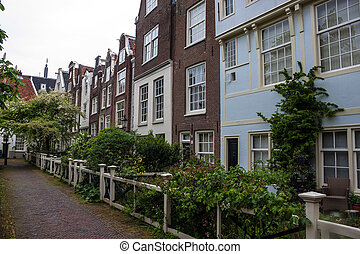 Traditional houses in Amsterdam