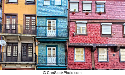 Traditional houses of Ribeira