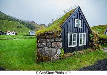 traditional icelandic house - Traditional Icelandic House...