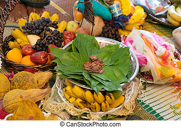 Traditional Indian Hindu ceremony - Traditional Indian Hindu...