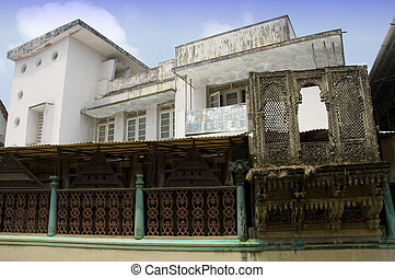 Traditional Indian home - A traditional home in the southern...