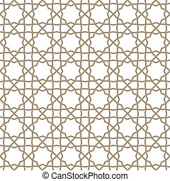 Traditional islamic ornament