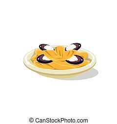 Traditional Italian Seafood Pasta