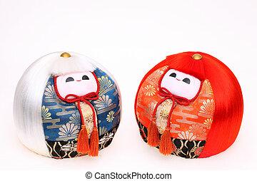 Japanese dolls for festival - Traditional Japanese dolls for...