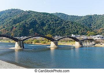 Traditional Japanese Kintai Bridge