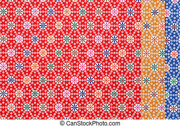 Japanese pattern origami paper