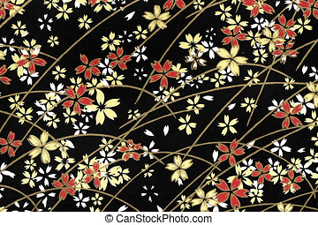 Traditional Japanese pattern paper - Traditional Japanese...