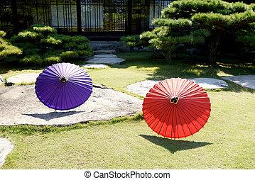 Traditional Japanese umbrella