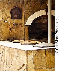 Traditional kitchen with a stove