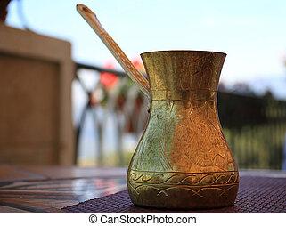 Traditional Lebanese Coffee Pot