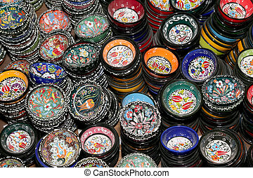 traditional local souvenirs in Jordan, Middle East
