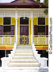 Traditional Malay House - Image of a traditional Malay house...