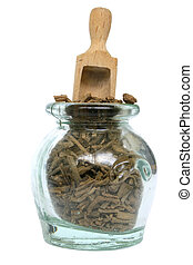 Traditional Medicine - Traditional herbal medicine in old...