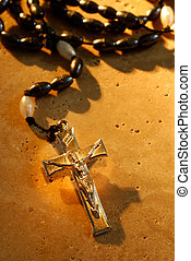 Rosaries - Traditional Metal Crucifix Rosaries Beads On A...