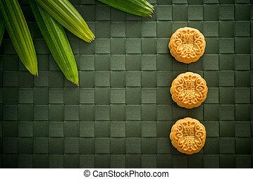 Traditional Mid-Autumn Festival Mooncakes