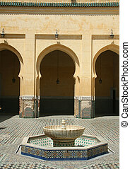 Traditional moroccan palace