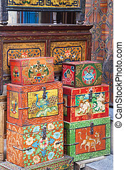 Traditional Nepalese Trinket Boxes