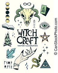 Traditional Occult Witchcraft Symbols