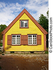 Traditional old house in Oslo - Traditional old wooden house...