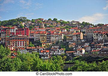 Traditional old houses of Veliko Tarnovo
