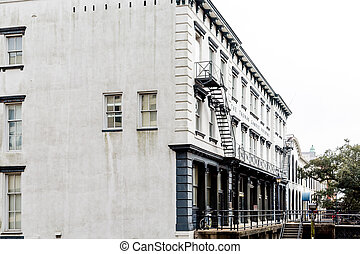 Old Stone Building in Savannah