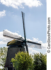 Traditional Old Windmill