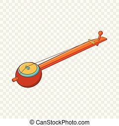 Traditional one string Indian ektara icon