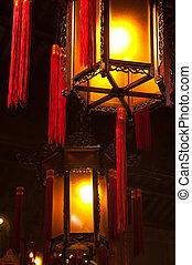 Chinese Lanterns - Traditional, ornate Chinese Lanterns with...