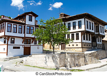 Traditional Ottoman Houses from Kastamonu, Turkey