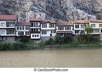 Traditional Ottoman houses in Amasya