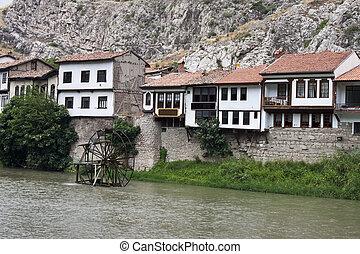 Traditional Ottoman houses in Amasya,