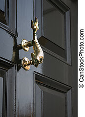 Traditional - Period -  Antique - Front Door Knocker