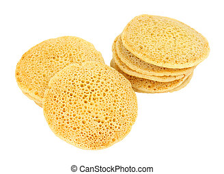 Traditional Pikelet Crumpets - Tradition thin pikelet flat ...