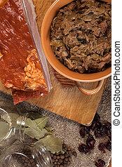 Traditional polish sauerkraut.