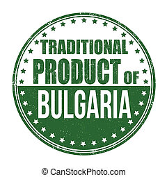 Traditional product of Bulgaria stamp
