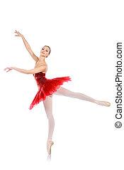 traditional - Professional bellet dancer posing at studio. ...