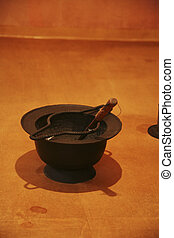 Traditional props in South Korea,Brazier