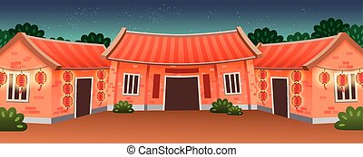 Traditional residence type