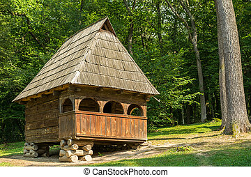 Romanian Village House