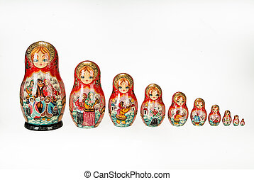 Traditional Russian Dolls