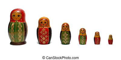 Traditional russian toys