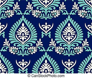 Traditional seamless indian pattern