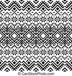 Traditional seamless pattern motif