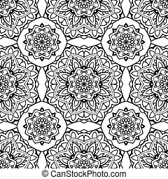 Traditional seamless pattern.
