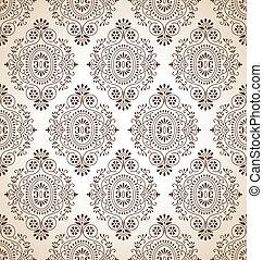 Traditional seamless wallpaper
