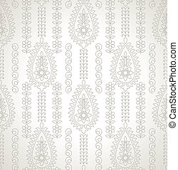 Traditional silver background