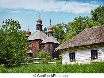 Traditional Slavonic village