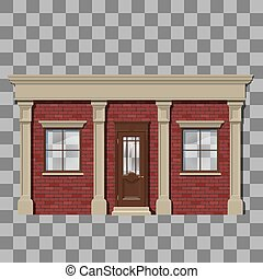 Traditional small shop facade